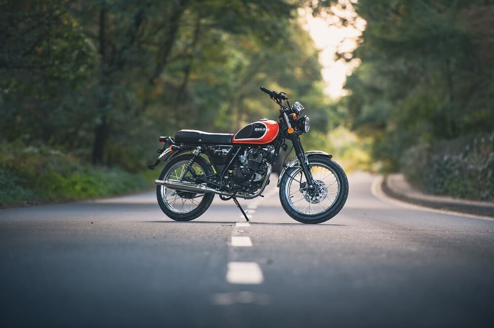 Summer Motorcycle Riding - Herald Classic 125