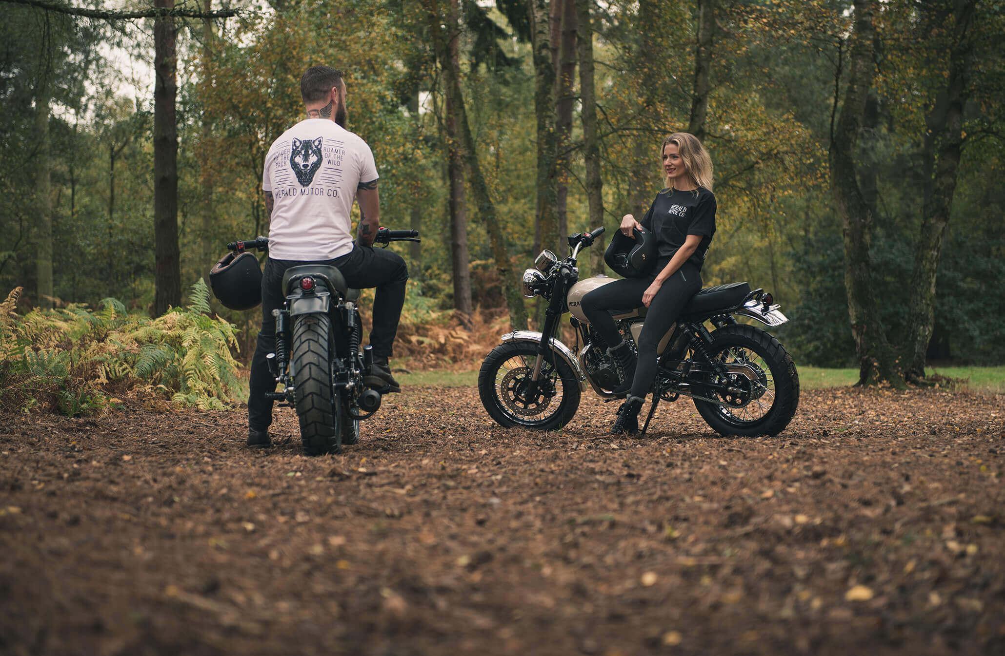 Herald merchandise custom bike parts