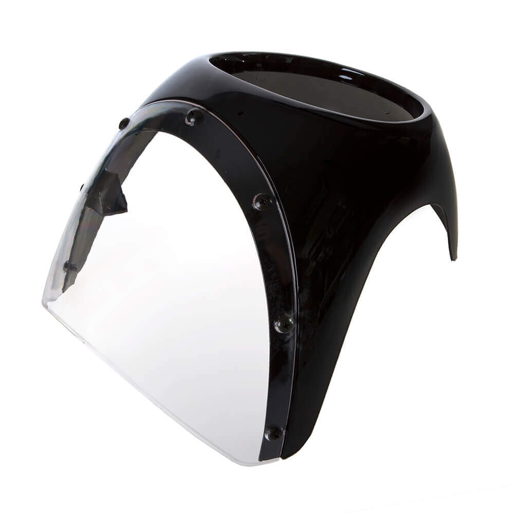 Headlight Fairing Kit - Black 1