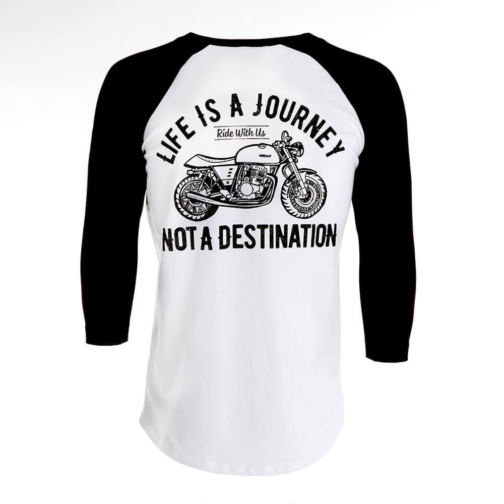Destination Raglan Tee