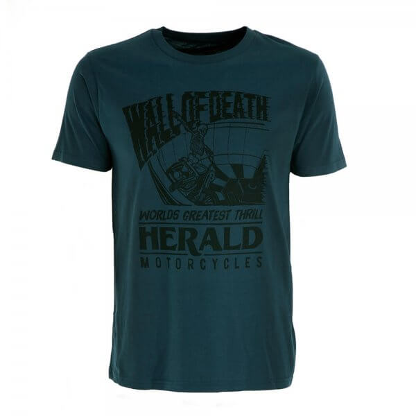 Wall of Death T-Shirt - Blue