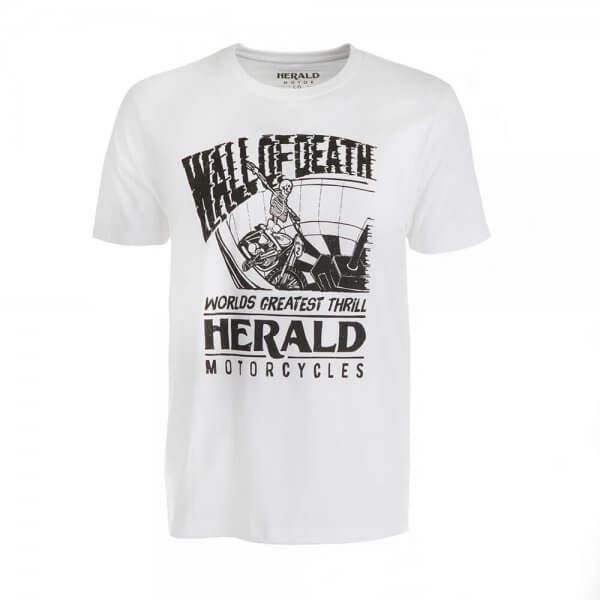 Wall of Death T-Shirt - White